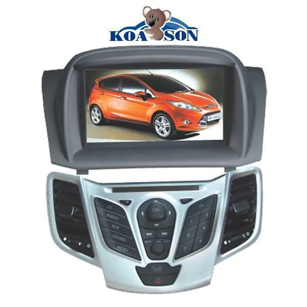 Special Car DVD GPS Player for Ford Fiesta with 7-Inch Touch Screen/Cabnus/DTV(optional)/TMC(optiona