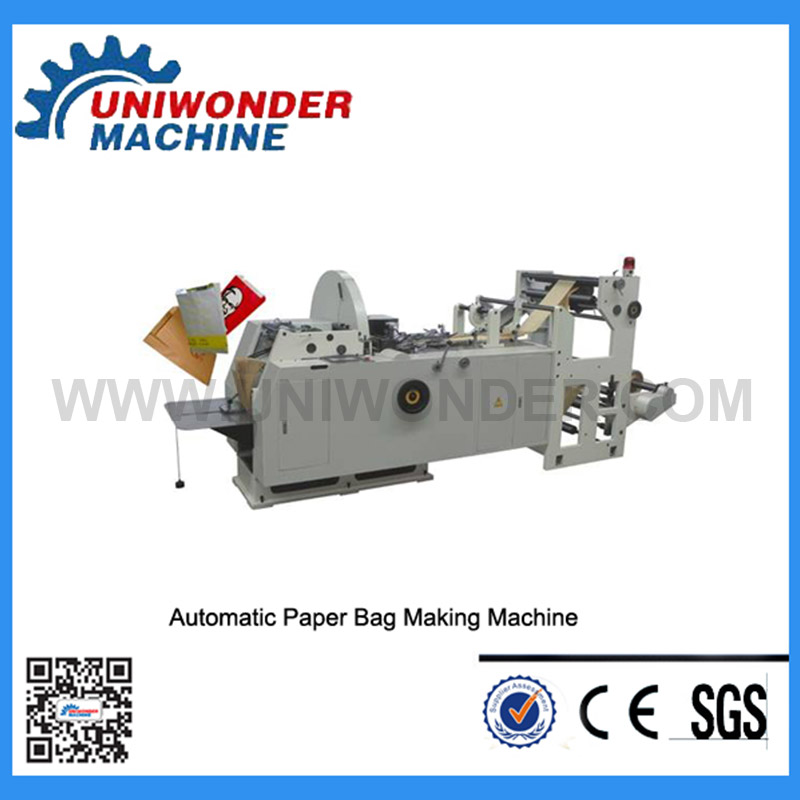 Fully Automatic V-shaped Paper Bag Making Machine