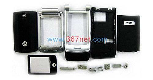 Motorola W375 Original Housing With Lens And Small Parts
