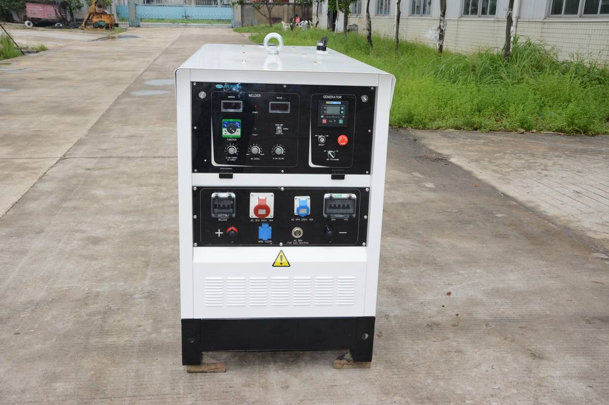 Welding Generator with Chinese Changchai Diesel Engine MMA GMAW and TIG Welding Functions