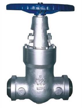 High pressure/pressure sealed gate valve
