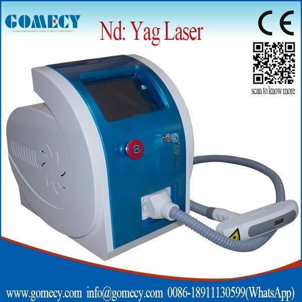2016 Christmas to promote Hot Sell Q Switched Nd Yag Laser Tattoo Removal And Skin Rejuvenation Mach