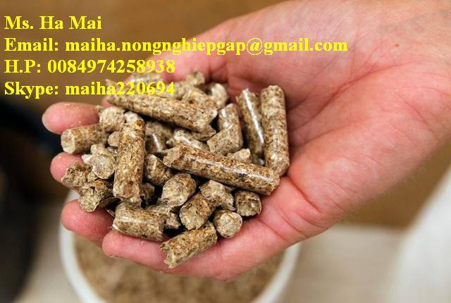 WOOD PELLETS FROM VIETNAM WITH BEST PRICE