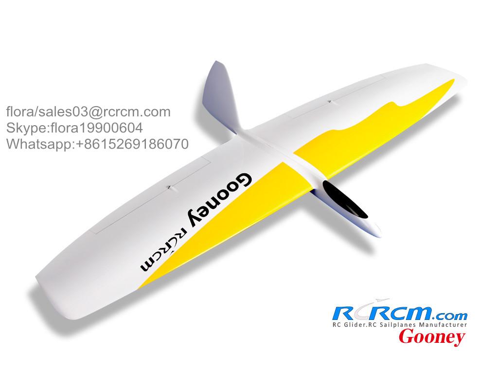 Gooney rc composite plane of rcrcm