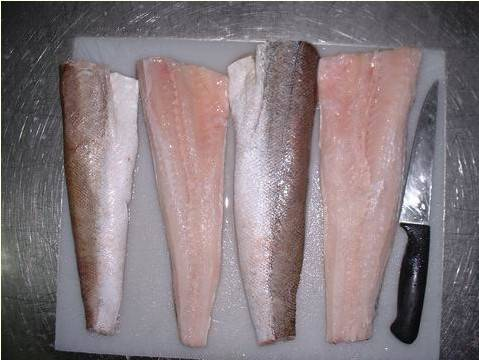 FROZEN PACIFIC HAKE FILLETS