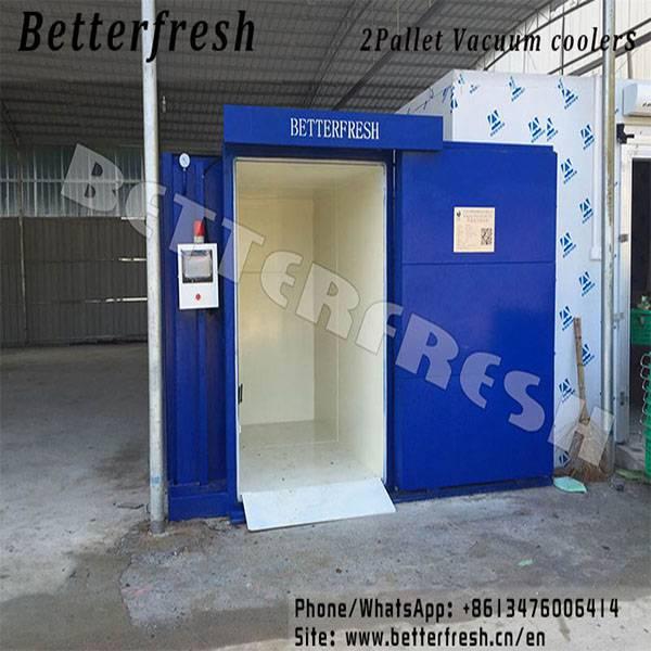 Betterfresh Customized Vacuum Cooling Vegetable Cooling Folwer Cooling Mushroom Cooling Farm Cooling