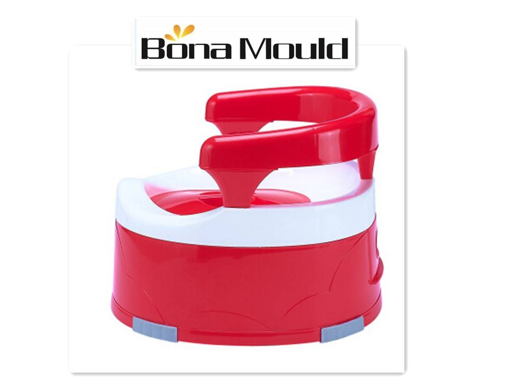 Plastic baby potty chair mould