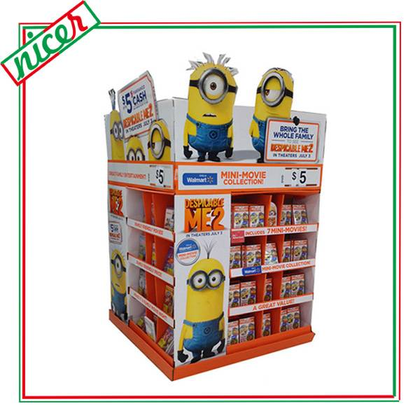 CD/DVD Store Carton Retail Display Ideas
