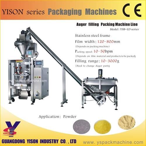 Factory price Automatic Powder packing machine, Washing Powder Packaging Machine
