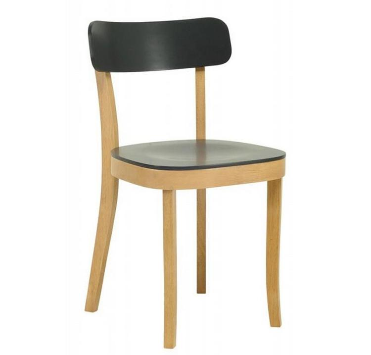 European Modern Design Natural Wood Base Dining Chair
