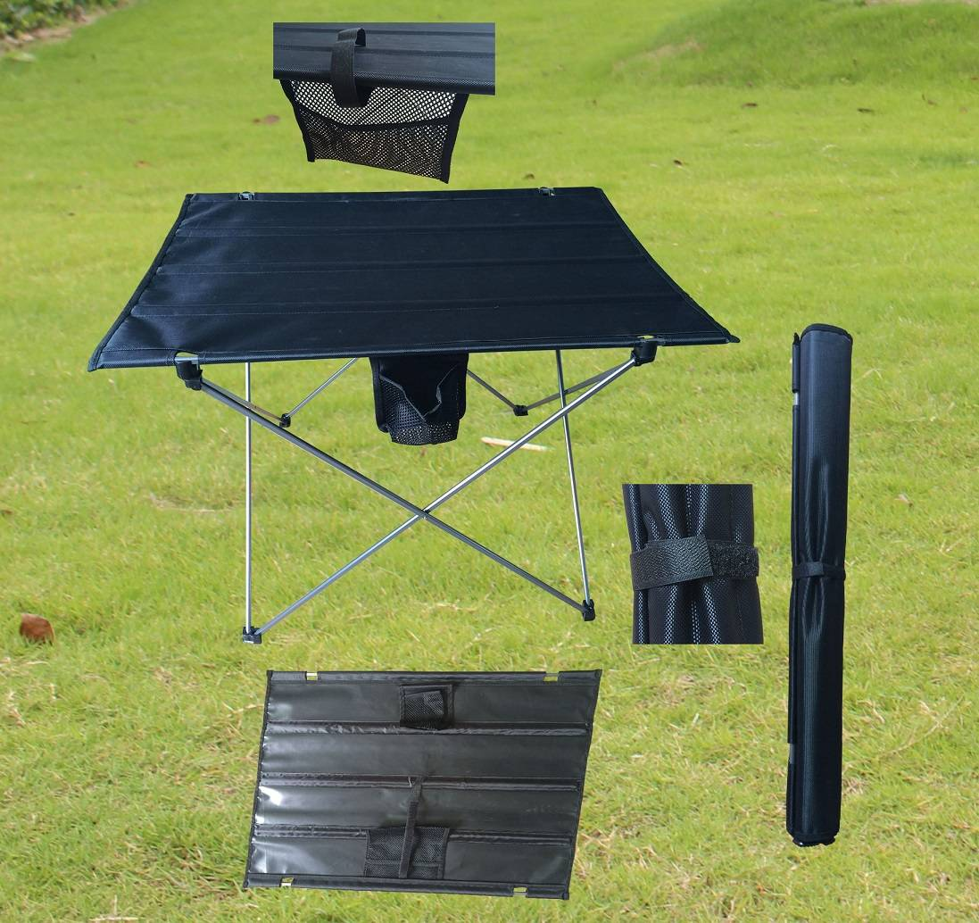 protable aluminum folding table for camping