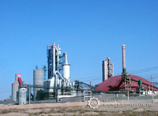Portlant Cement Production Line With Low Investment