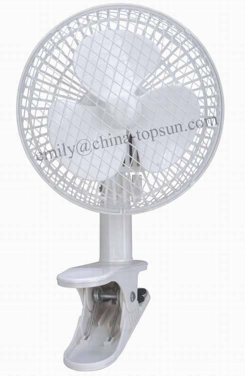 High Quality Electric Plastic 6 inch Mini Small Clip Fan