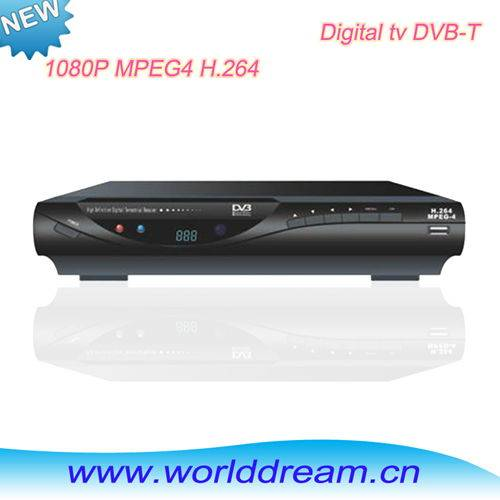 PVR and playback function mepg4 dvbt tv receiver