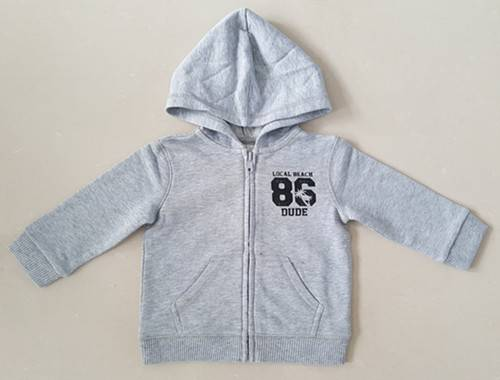 baby cotton hoody jacket