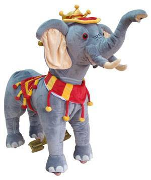 Amusement Ride On Elephant