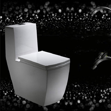 Manufacturer big size ceramic bathroom one piece toilet