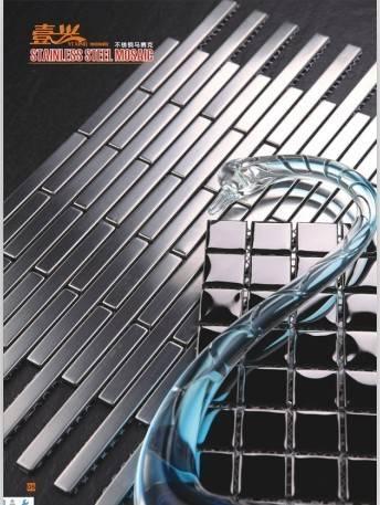 Foshan Yixing Metal mosaic tile, stainless mosaico,wall paper