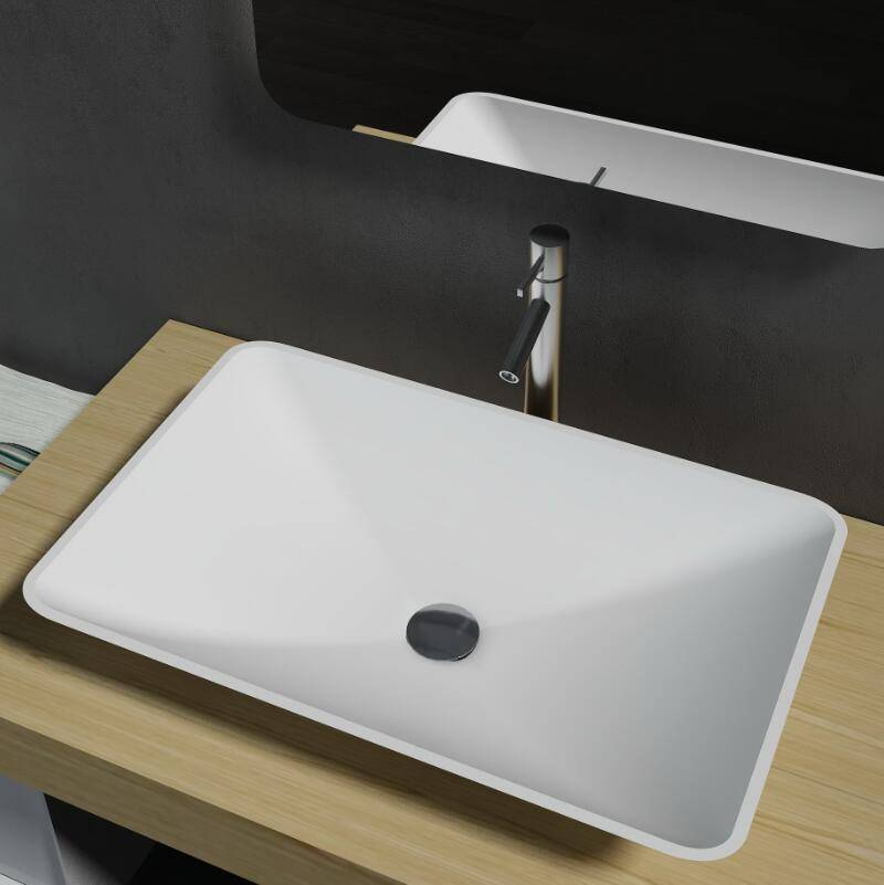 Artificial Stone / Solid Surface Table Top Basin (PB2104)