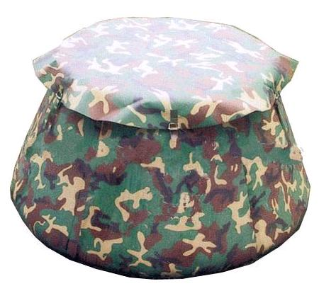 Onion 10000 Liter PVC Tarpaulin Fabric Collapsible Onion Water Bladder Tanks For Fire Firefighter