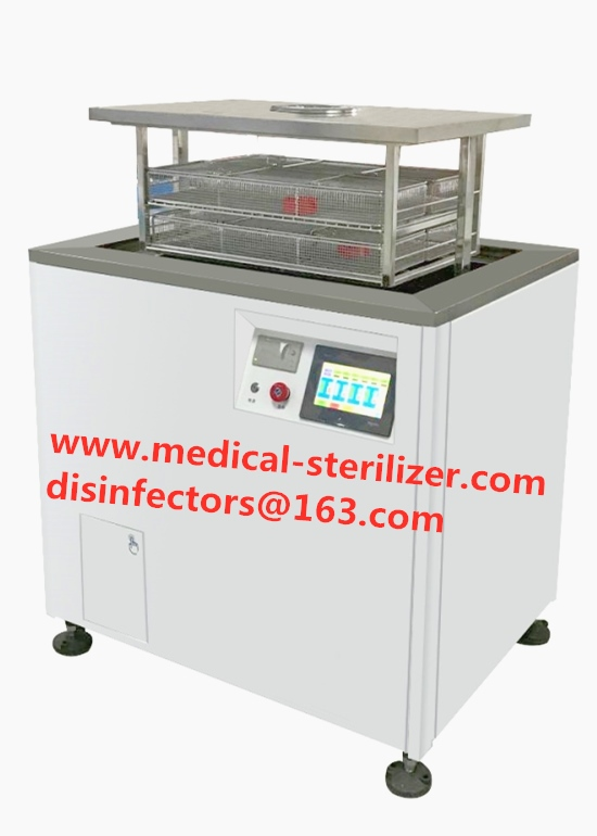 Vacuum ultrasonic surgical instrument cleaning disinfection sterilization equipments from China