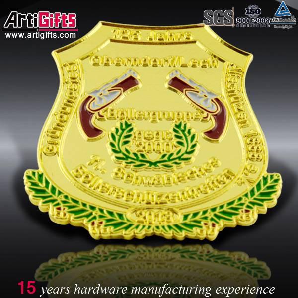 Wholesale custom design epoxy coated soft enamel pin badges