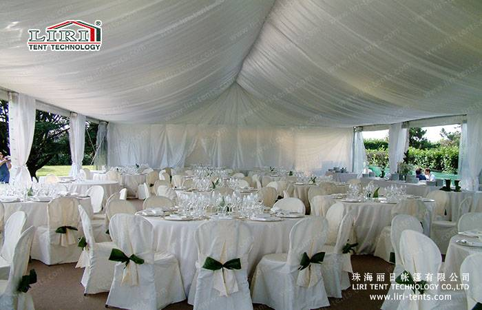 Big Party Wedding Marquee Tent with Full Decoration For 1000 people