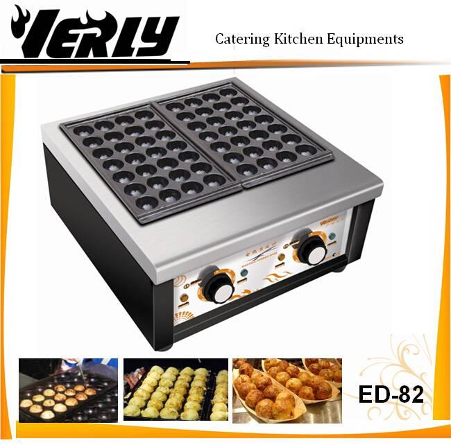 Hot sale 56 holes Electric Fishball Barbecue Oven/ Takoyaki machine