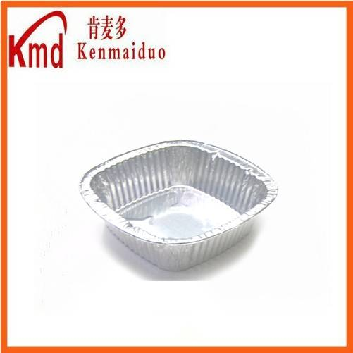 Available size factory wholesale irregular aluminum foil food containers for packing by selling prod