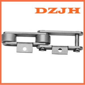 ISO,ANSI Standard Double Pitch Roller Chain C2040 chain with A1 attachment