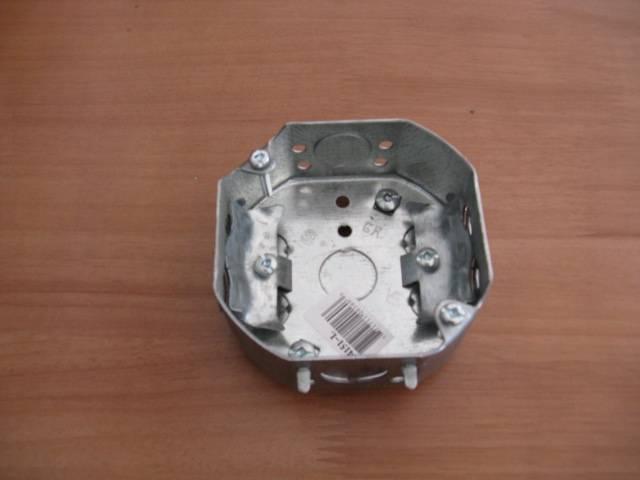 octagon electrical box/steel box/metal outlet box/utility box/conduit box/junction box/socket box/sw