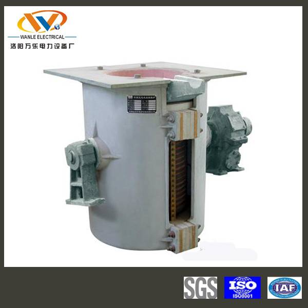1T power saving iron smelting induction furnace