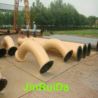 Wear Resistant Rubber Lined Pipeline Pipe