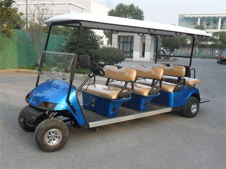 Falcon brand 8 seat cheap electric golf buggy golf car electric vehicle with CE(WX2062KSZ)