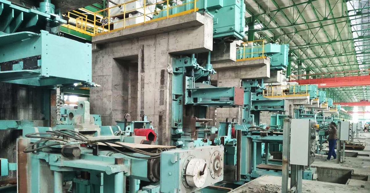 Complete Rebar Rolling Mill Line For Sale