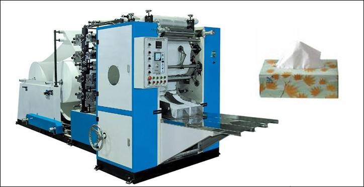 HC-200-2-B 2 Color Drawing Facial Tissue Machine