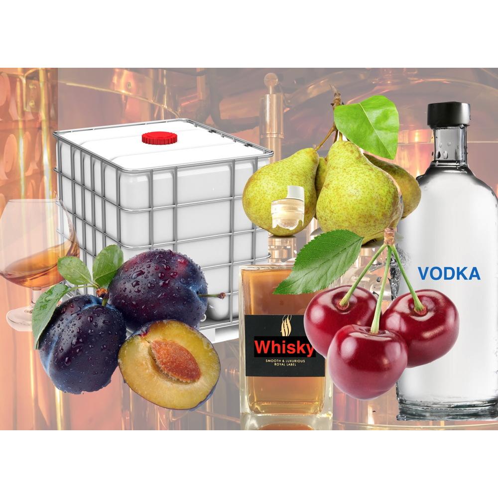 Fruit Distillate - Bulk 1000 L IBC