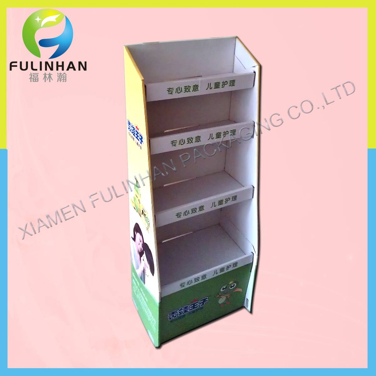 Cardboard Display Stand for Store