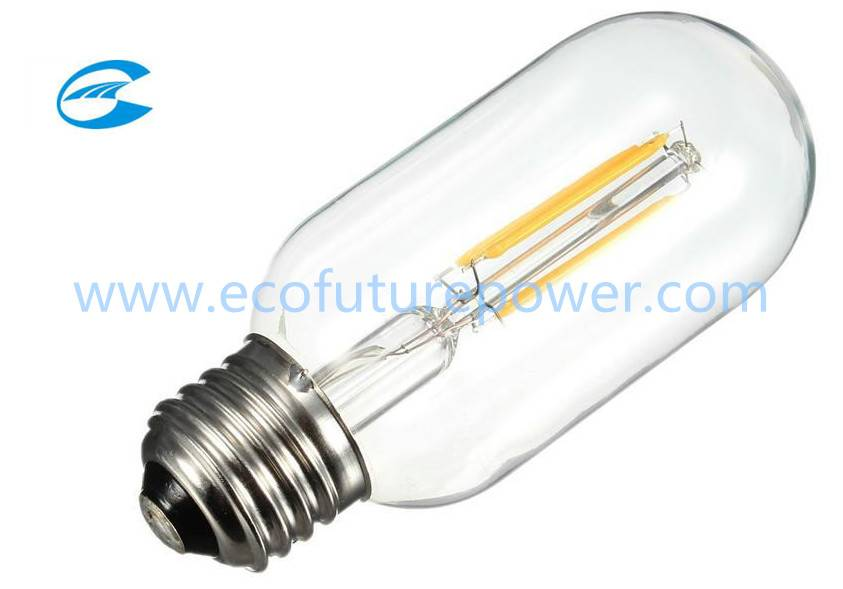 New arrival LED 4w filament bulb T45 lamp bulb