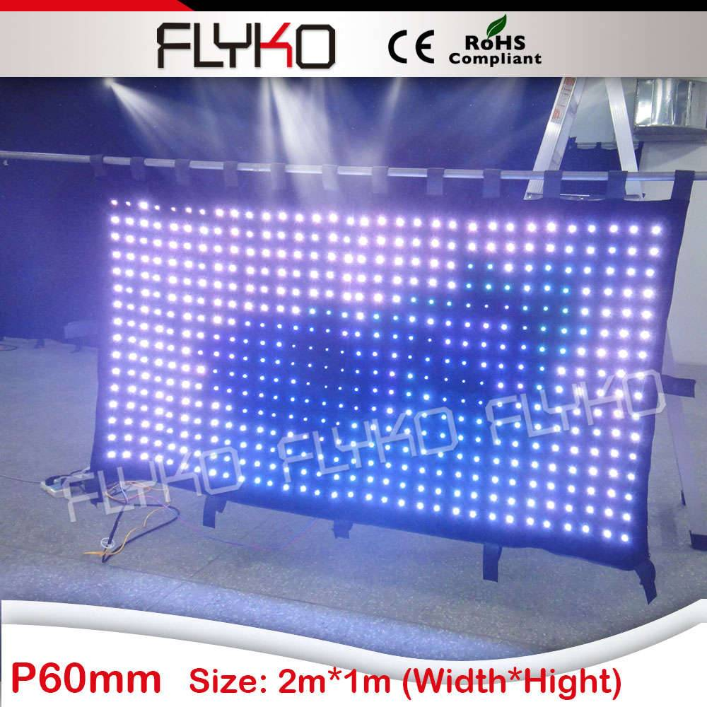 custom LED stage backdrop