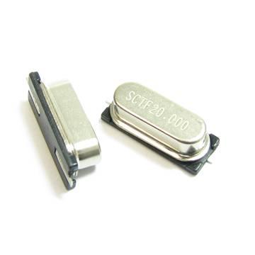 HC-49S/SMD 62.9MHz quartz crystal resonator
