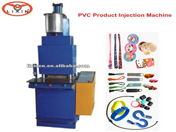 Automatic injection machine fpr pvc USB/key chain