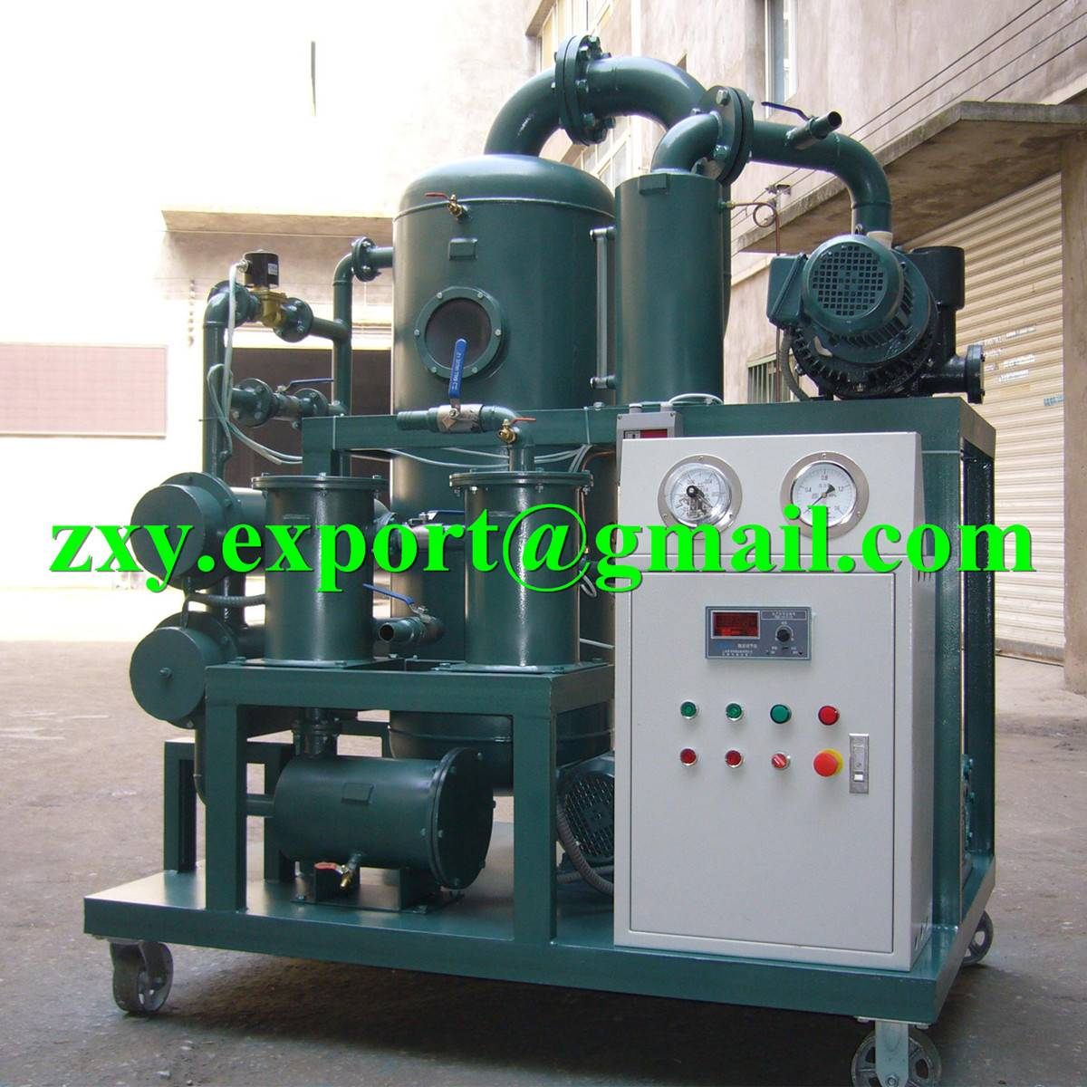 Insulating Oil Filtration Plant, Dielectric Transformer Oil Dehydration System