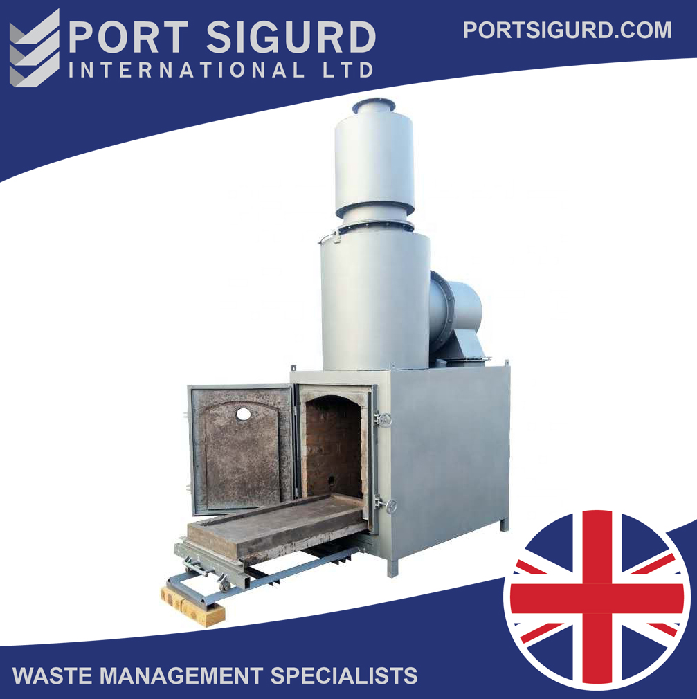 500 KG/H Natural Waste Incinerator [Cremation, Recycling] [FREE FREIGHT]