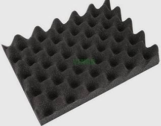wave acoustic foam egg shaped acoustic pu foam