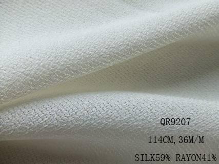 silk/rayon fabric:QR9207