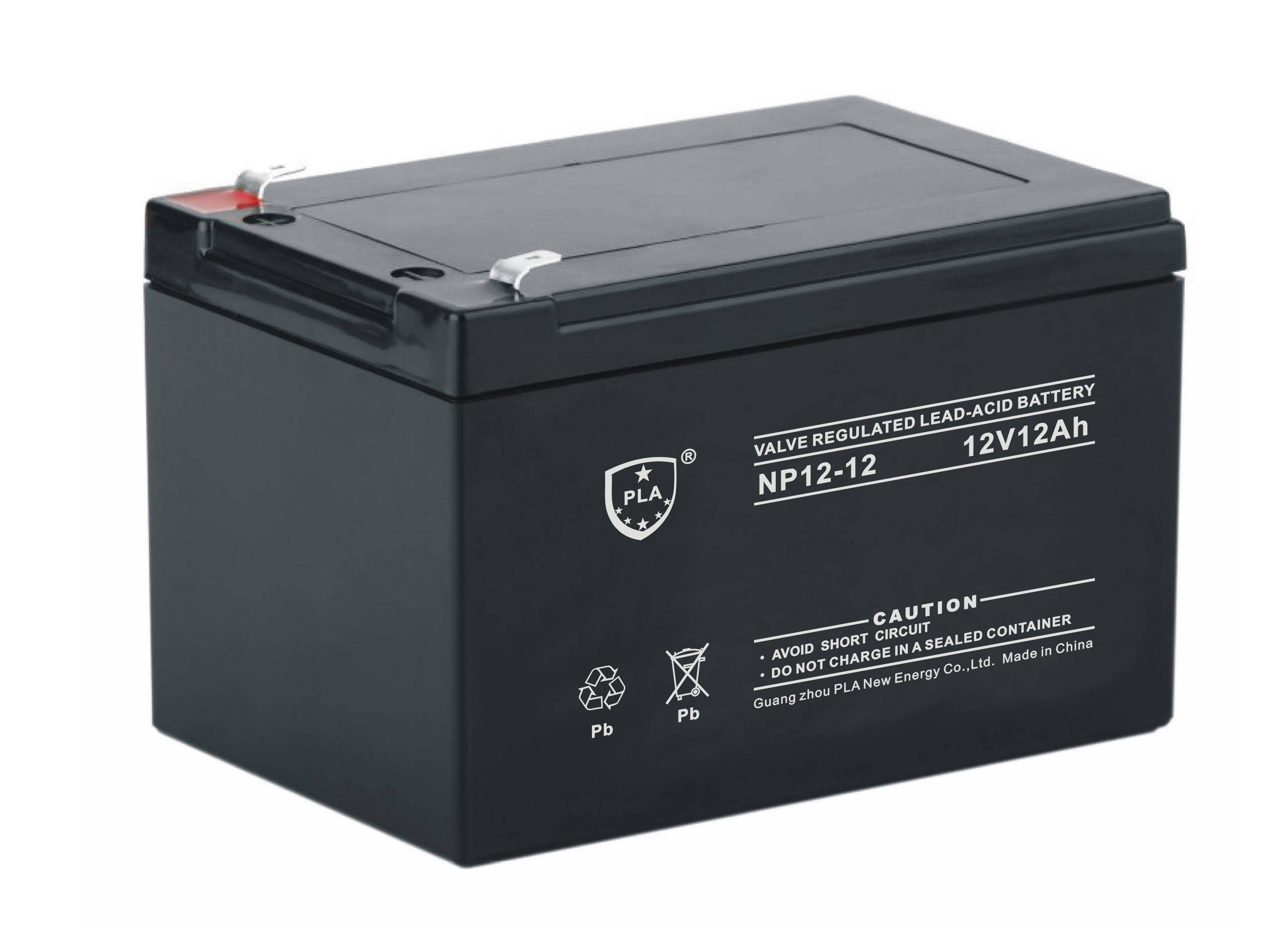 12V12Ah Deep Cycle Lead Acid Battery For UPS