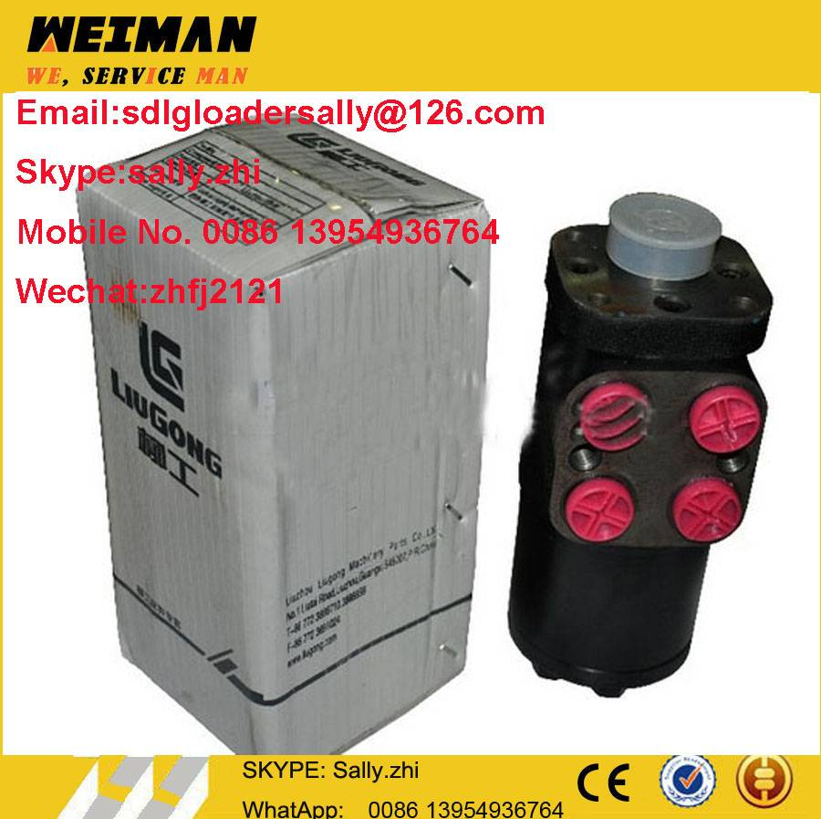 original ZL30E hydraulic part steering unit, 44C0016  in yellow colour for liugong wheel loader