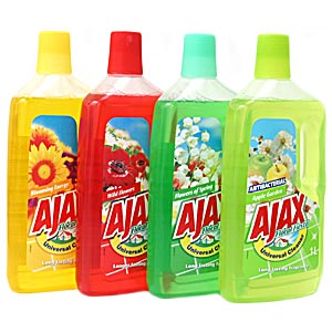 Ajax Floor Detergent Mix