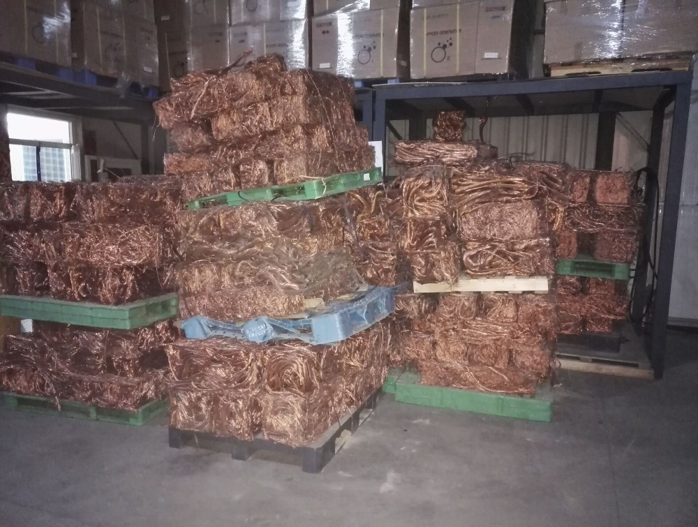 high quality cooper wire scrap